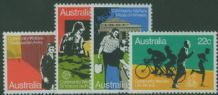 AUS SG748-51 Welfare set of 4